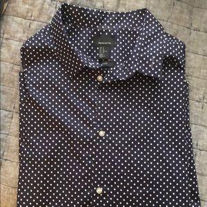 H&M Short Sleeve Button Down Shirt
